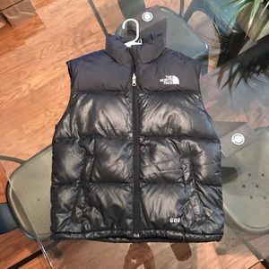 Youth North Face 600 down vest size M